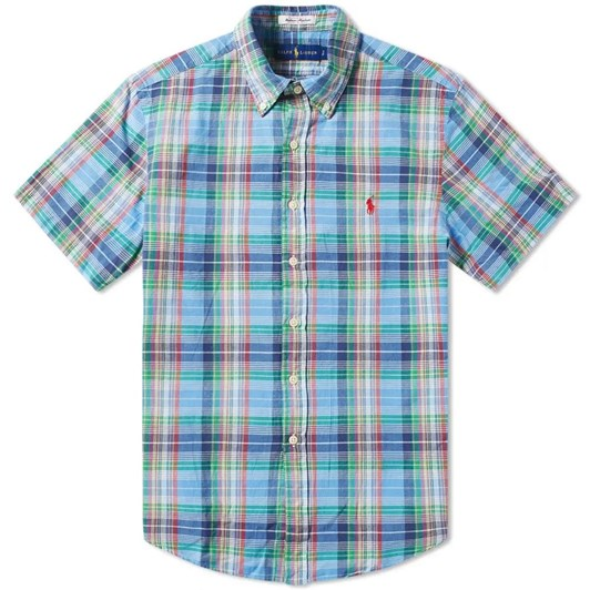 Polo Ralph Lauren Short Sleeve-Sport Shirt-Madras