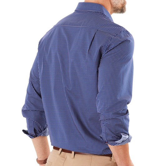 Gazman Smart Cross Dot Print