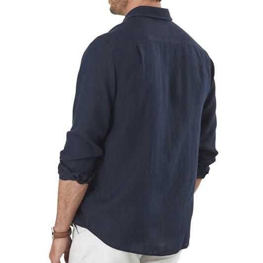 Gazman Pure Linen Plain Shirt