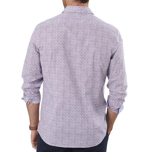 Gazman Tailored Fit Circle Print Shirt