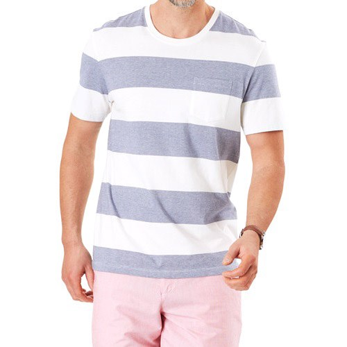 Gazman Block Stripe Pocket Tee