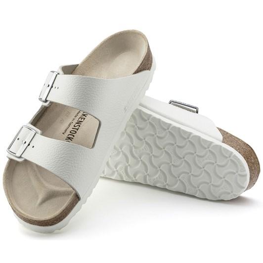 Birkenstock Arizona White Smooth Leather