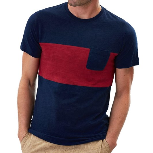 Joules Rugby Striped Crew Neck T-Shirt