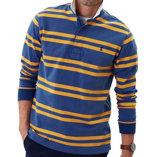 Joules Onside Long Sleeve Stripe Rugby Shirt