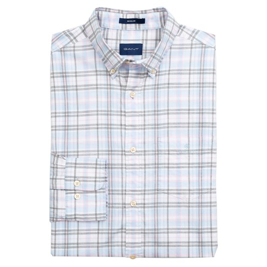 Gant Regular Fit Winter Twill Heather Shirt