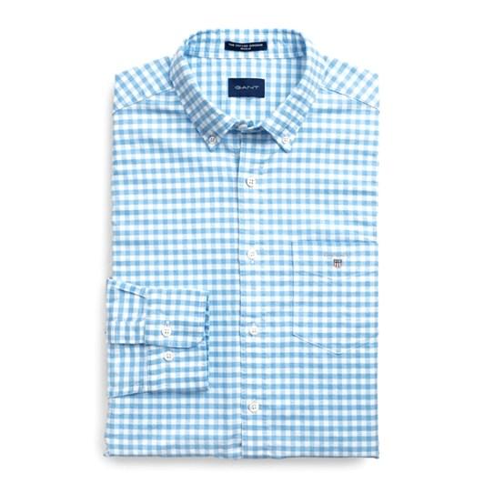 Gant Regular Fit Gingham Oxford Shirt
