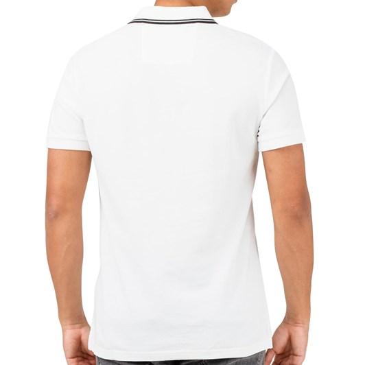 Calvin Klein Tip Badge Pima Polo  Ckjm Pol