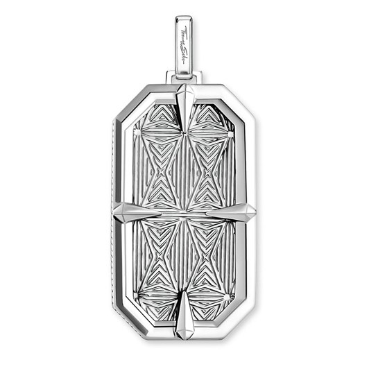 Thomas Sabo Pendant Compass Star Silver Dog Tag