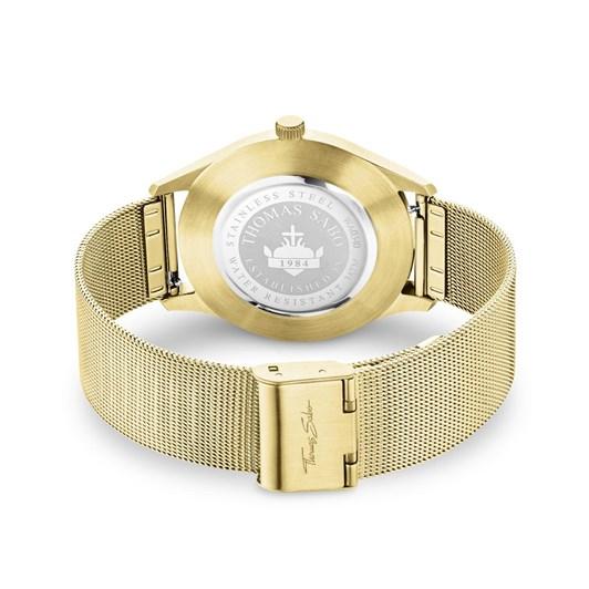 "Thomas Sabo Watch Unisex ""Code TS Yellow Gold"""