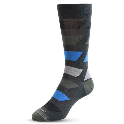 NZ Sock Bolted Colour Sock - 319 anthracite