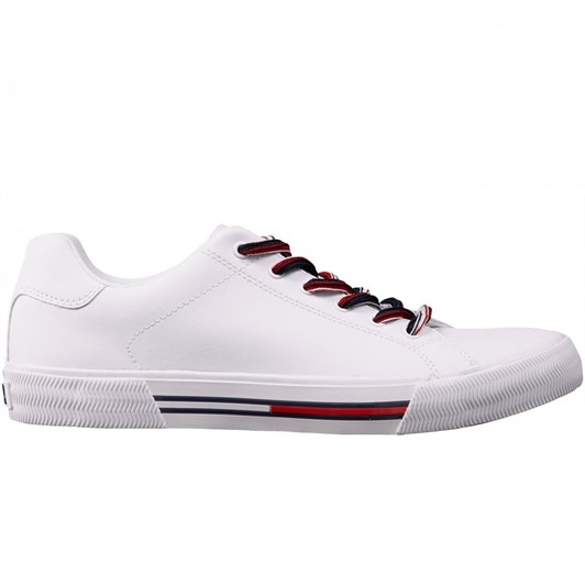 Tommy Jeans Essential Leather Lace-Up Trainers