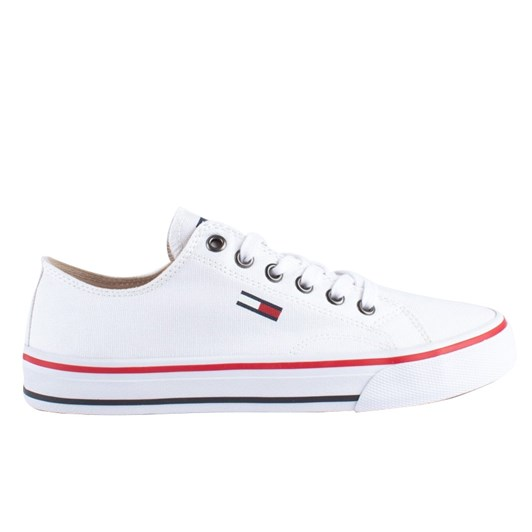 Tommy Hilfiger Cotton Classic Lace-Up Trainers