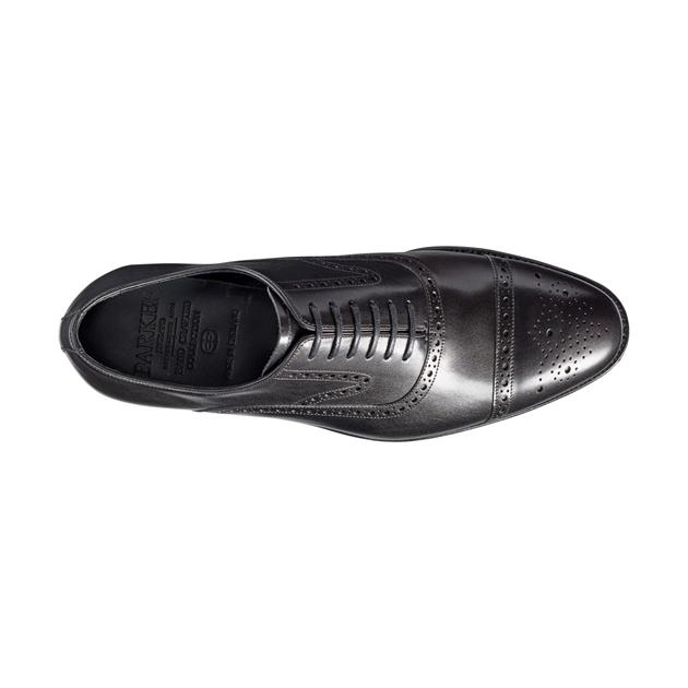 Barkers Lerwick G Fit Shoes - black calf