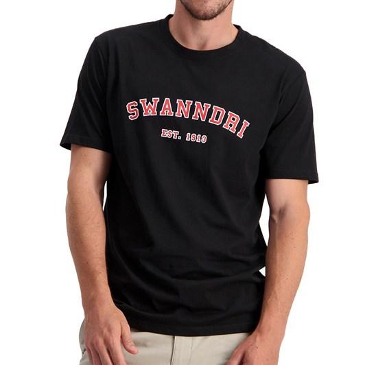 Swanndri  Collegiate Print Tee