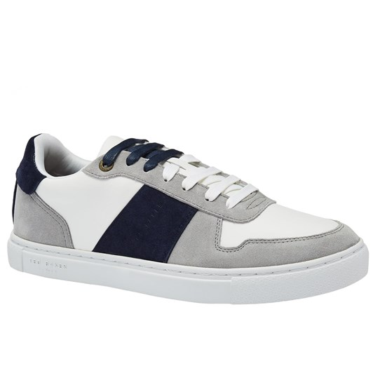 Ted Baker COPPIT Leather Tennis Trainers