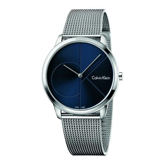 Calvin Klein Minimal Mesh Watch CK Logo Blue