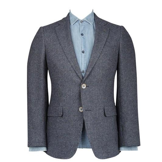 Rembrandt Hawker Blue & Grey Blazer