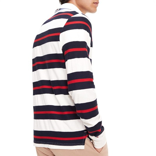 Tommy Hilfiger All-Over Stripe Cotton Rugby Shirt