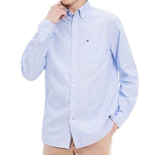 Tommy Hilfiger Regular Fit Cotton Dobby Shirt