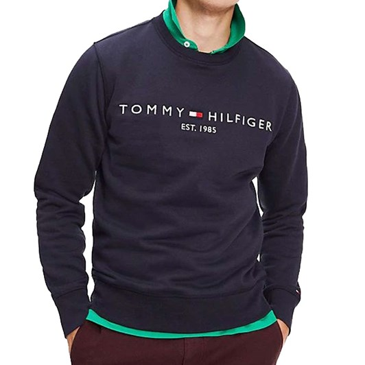 Tommy Hilfiger Organic Cotton Blend Logo Sweatshirt