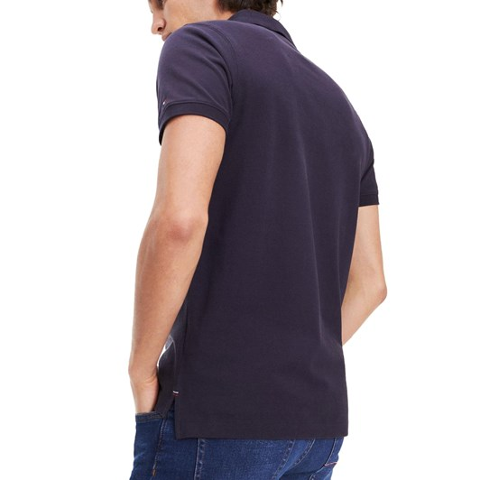 Tommy Hilfiger Embroidered Pure Cotton Slim Fit Polo