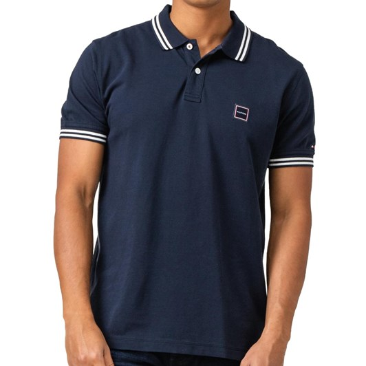 Tommy Hilfiger Badge Tipped Polo