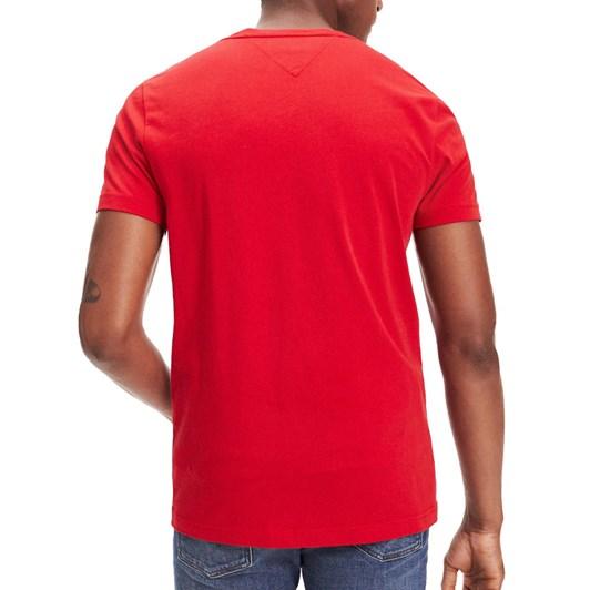 Tommy Hilfiger Regular Fit Organic Cotton Underline T-Shirt