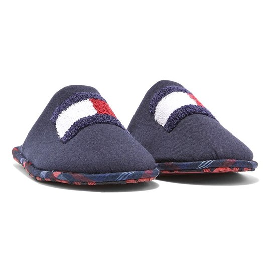 Tommy Hilfiger Cotton Flag Slippers