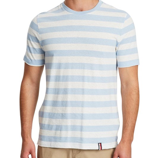 Tommy Hilfiger Cotton Linen Relaxed Fit Tee