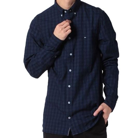 Tommy Hilfiger Slim Fit Tonal Check Shirt