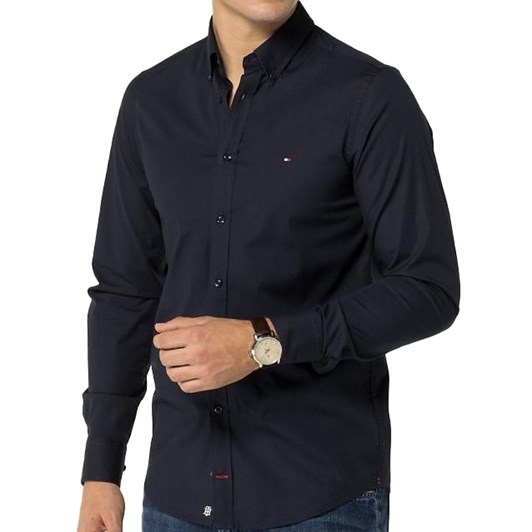 Tommy Hilfiger Stretch Slim Poplin Shirt