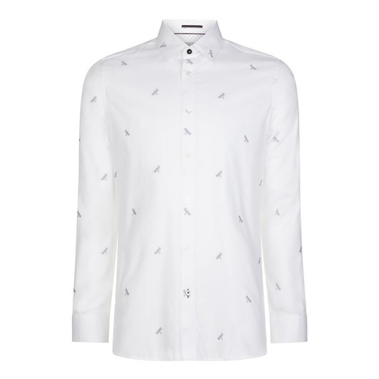 Ted Baker NOWHY Long Sleeved Dragonfly Print Shirt