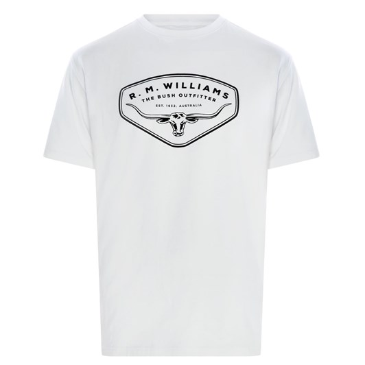 R.M. Williams R.M.W Shield T-Shirt
