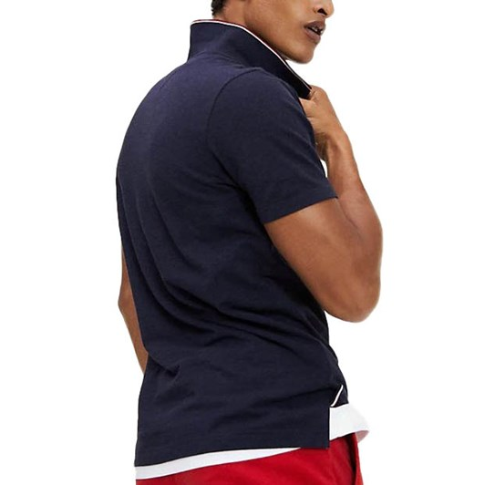 Tommy Hilfiger Tipped Collar Slim Fit Polo