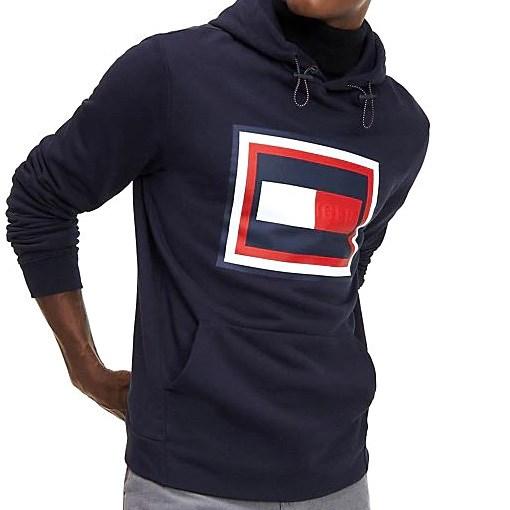 Tommy Hilfiger Embossed Logo Hoody