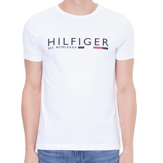 Tommy Hilfiger Rubberised Logo Organic Cotton T-Shirt