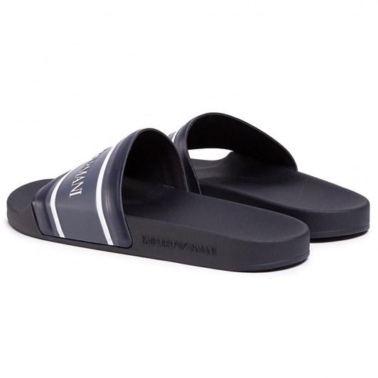 Emporio Armani Mens Slide Beach Shoe