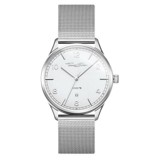 "Thomas Sabo Unisex Watch ""Code TS Silver White"""