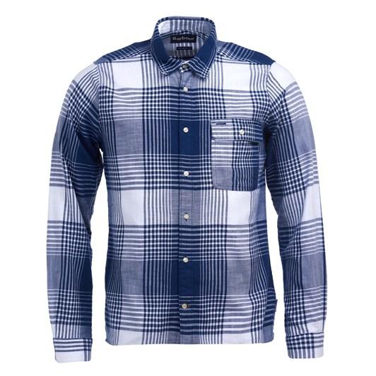 Barbour Coast Chk Shirt Navy