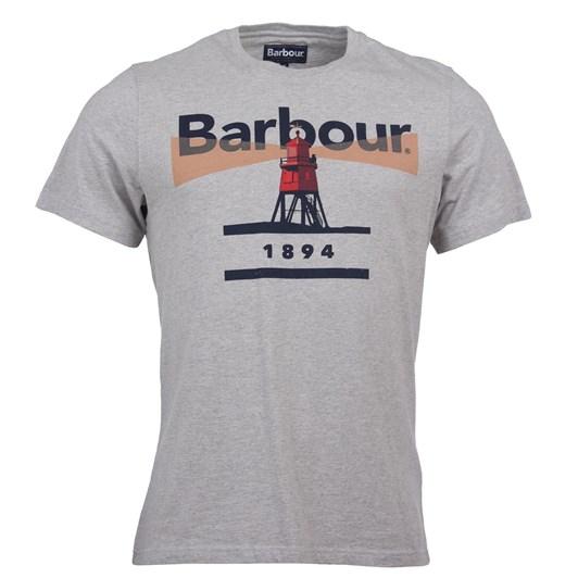 Barbour Lhouse 94 Tee Grey Marlrl