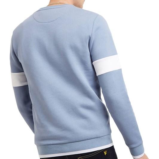 Lyle & Scott Tipped Crew Neck Sweatshirt