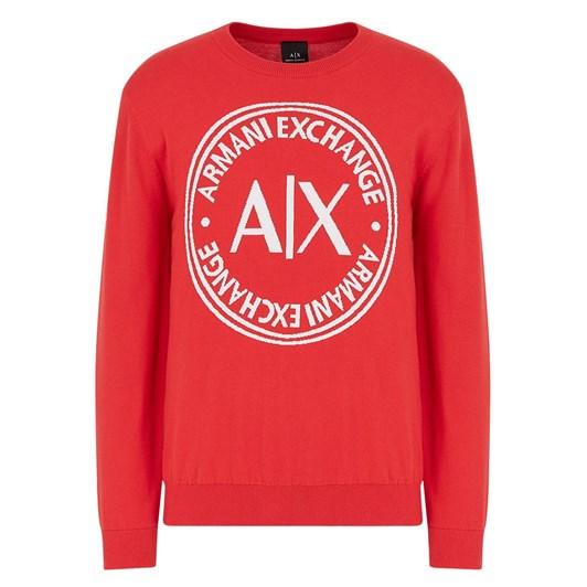 Armani Exchange Oversized Logo Sweater