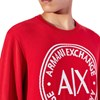 Armani Exchange Oversized Logo Sweater - 1401 chinese red