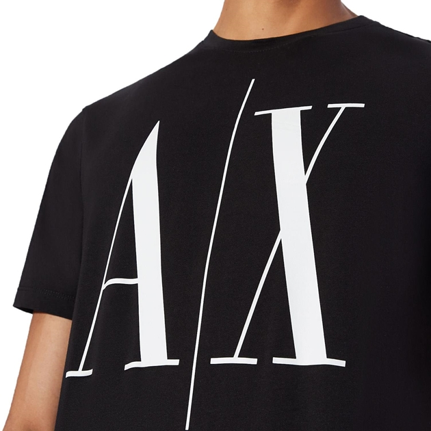 Armani Exchange Icon Logo Tee - 1200 black