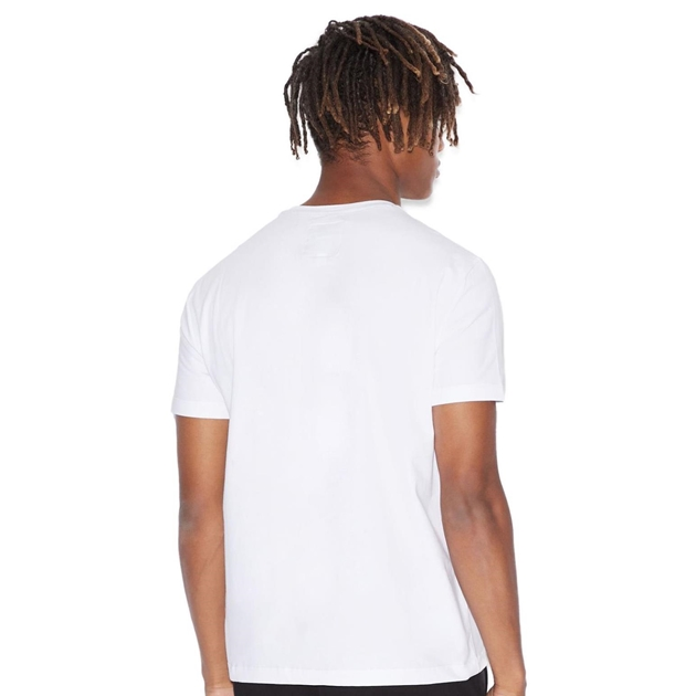 Armani Exchange Icon Logo Tee - 5100 white print