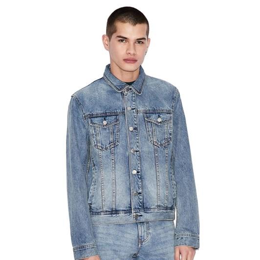 Armani Exchange Icon Period Denim Jacket