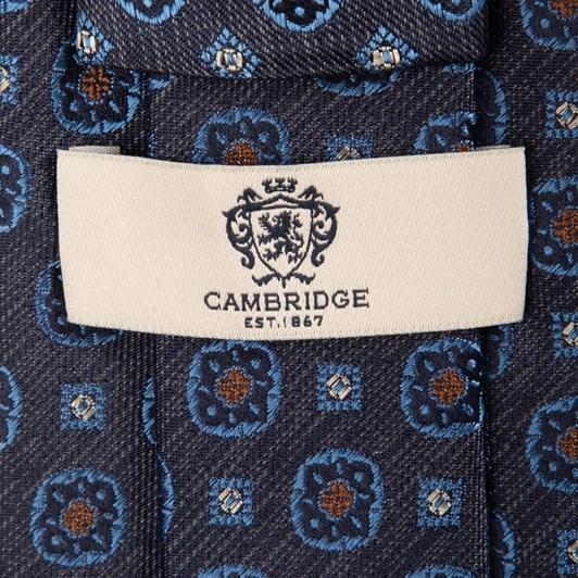 Cambridge Matte Foulard 7.5Cm Silk Tie