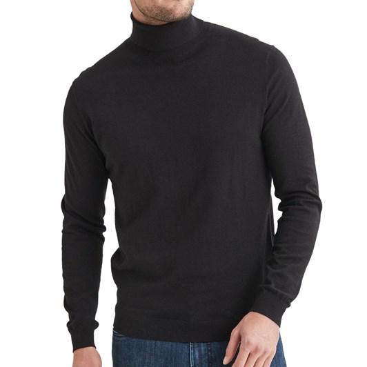 Blazer Finn Cotton Blend Roll Neck Knit