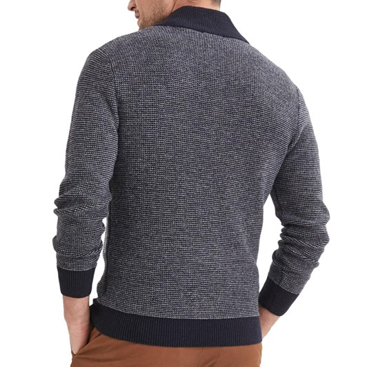 Blazer Samuel Lambs Wool Button Neck