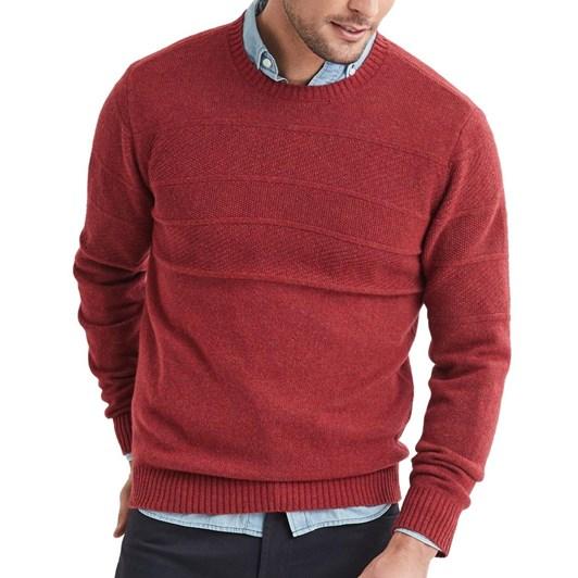 Blazer Theo Lambs Wool Texturn Crew Neck